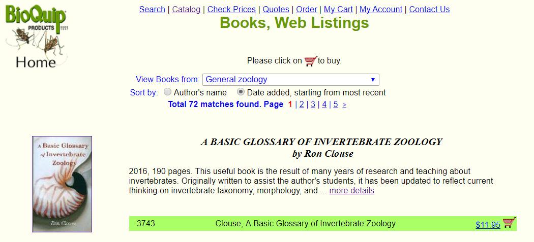 invertebrate zoology books pdf free